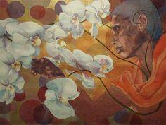 Nalani Rasmussen - Gathering And Pruning [SOLD]  #Art  #MadeInHawaii  #Painting