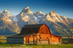 Grand Old Barn in the Grand Teton National Park, Wyoming