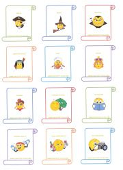 Charades for kids. Has rules, ideas, and even word cards with pictures