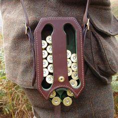 Gentleman's shotgun shell carrier but on a belt or drop leg rig?