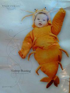 Living Fiction Jack O Lantern Pumpkin Infant Costume Orange 0-9M 12-18M NIP