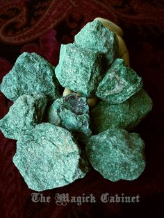 Fuchsite, Raw Stones, Healing Crystals and Stones, Natural Stone, Crystal Healing, Gemstone, Rough Stone, Mystical Gemstone, Altar Stone