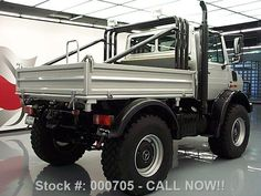 Arnold Schwarzenegger's Second Mercedes-Benz Unimog Is Now for Sale on Ebay