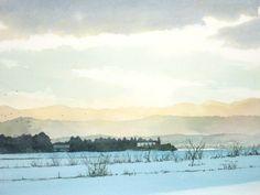 English - あべとしゆき水彩画ギャラリー Abe Toshiyuki Watercolor Web Gallery