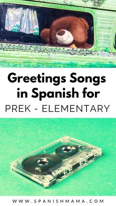 Our Favorite Greetings Songs in Spanish Teach greetings in Spanish with these songs for teaching basic ways to say hola, adiós, and ¿Cómo estás? Preschool Spanish, Learning Spanish For Kids, Elementary Spanish, Spanish Activities, Teaching Spanish, Kindergarten Activities, Activities For Kids, Spanish Classroom, Learning Activities