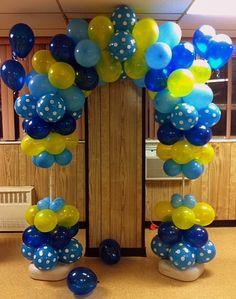 Semi Quad Balloon Arch