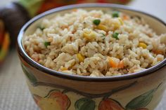 Over the Rainbow Brown Rice by mealmakeovermoms, via Flickr