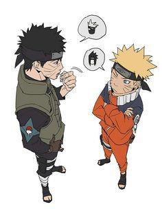 Image about anime in 🍜 🍥 Naruto 🍥 🍜 by Naho on We Heart It Naruto And Sasuke, Naruto Uzumaki, Anime Naruto, Naruto Fan Art, Naruto Funny, Sakura And Sasuke, Boruto, Sasunaru, Shikatema
