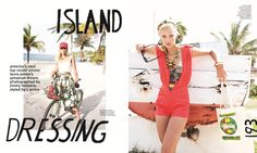 Laura James - official Nylon spread - America's Next Top Model ...
