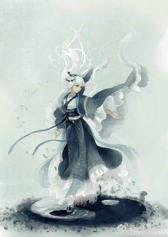 Beautiful piece for Nikki's Taoism Hanfu Style