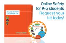 Go to this website, and on the right side, request your kit.  it is free and comes to you with in 2-4 weeks.  3 ring binder full of all kinds of great info about internet safety and YOU CHOSE what level you want, Elementary, Middle, High School, Etc.