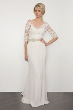Sarah Janks, 2013 - BEAUTIFUL for a winter or late fall wedding!