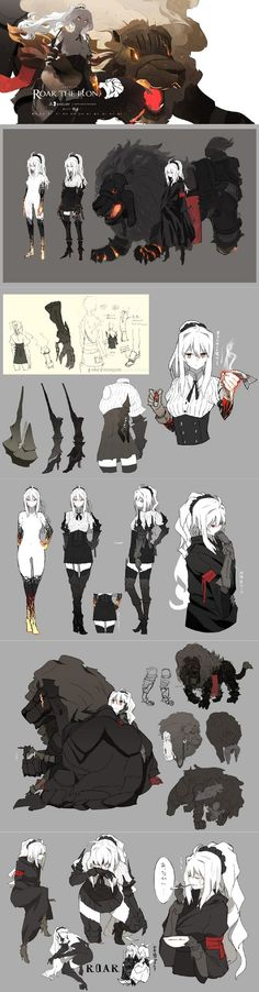 images for anime art Character Drawing, Comic Character, Character Illustration, Character Concept, Concept Art, Character Sheet, Female Characters, Anime Characters, Bd Design