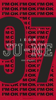 Ju-ne junhoe Ikon Wallpaper, Mobile Wallpaper, Bobby, Koo Jun Hoe, Jay Song, Hanbin, Kpop, Wallpapers, Kim Dong