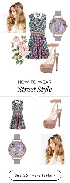 """Street Style"" by sheina-karina on Polyvore featuring Mary Katrantzou, ASOS, Olivia Burton and Prada"