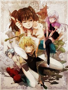 Nanatsu no Taizai (7 deadly sins) - I just want to recommend this anime to everyone, it's got an awesome plotline and it has GREAT potential :) Hope you will enjoy it