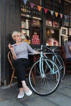 Enjoy Bicycle Girls | Shared from http://hikebike.net #chick #bike