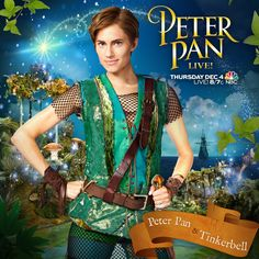 Get ready for the television event of the season - #PeterPanLive is only TWO days away! Join us Thursday, Dec 4 at 8/7c. #TickTock