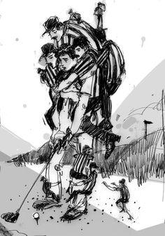 Josh Cochran #Illustration