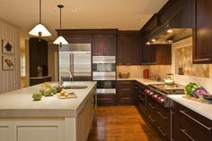 kitchens with cooktop in island - Google Search