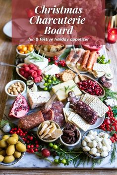 Make your holiday a bit more special with a festive Christmas Charcuterie Board. Add seasonal flavors and greenery to create a snacking board worthy to be called a full meal!