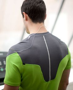 Light as Air running shirt.