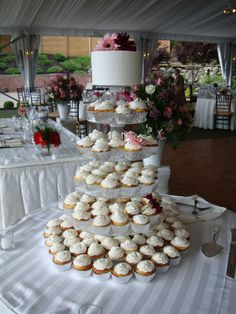 With cupcakes becoming increasingly popular at wedding receptions, our cupcake towers will exceed any expectations