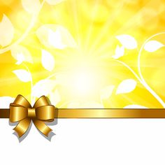 Shiny yellow background vector graphics 01 free