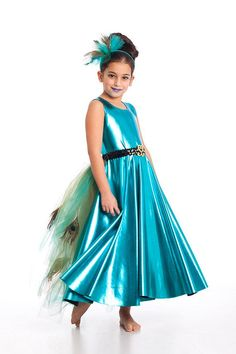 Girls Tireless Mermaid Costume Girls Princess Cosplay Ariel Dress Halloween Sequin Party Dress
