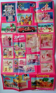 Catálogo da Estrela Mattel Barbie 1990