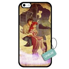 Onelee(TM) - Customized The Little Mermaid TPU Case Cover for Apple iPhone 6 - Black 02:Amazon:Cell Phones & Accessories