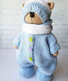 Visit the site for details. Crochet Doll Pattern, Crochet Toys Patterns, Doll Patterns, Crochet Bunny, Crochet Animals, Crochet For Kids, Knitted Dolls, Crochet Dolls, Doll Tutorial