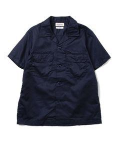 BEAMS BOYらしいメンズライクなデザインシャツ