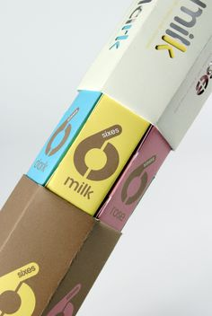 Chocolate Box Design (Nestle) by Michael Turner, via graphic design layout, identity systems and great type lock-ups.