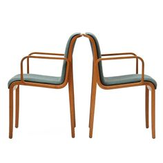 Armchairs By Bill Stephens for Knoll c1960's