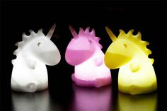 Smoko Unicorn Ambient Long Lasting LED Night Light Happiness can be found, even in the darkest of times, if one only remembers to turn on the unicorn light. For late nights online, when the glow from your dusty desk lamp just isn't magical enoug Shortbread Cake, Unicorn Gifts, Magical Unicorn, Led Night Light, My Room, Dorm Room, Gadgets, Cool Stuff, Ambient Light