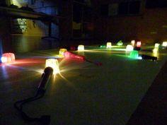 Experimentem amb gelatina i llum