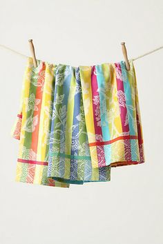 Afterglow Dishtowels #anthropologie