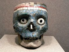 Aztec mosaic skull by Peter BABILOTTE on 500px