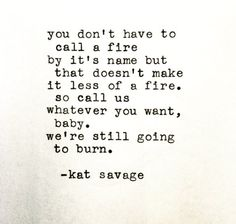 kat savage | Reminds me of a Dashboard Confessional song . . .