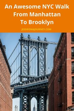 Best NYC Walks: A Fun & Delicious Walk From Manhattan To Brookly
