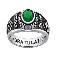 Ladies CELEBRIUM Traditional Oval Stone Class Ring