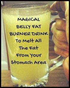 Here is a magical belly fat burner drink to melt all the fat from your stomach area in less than 2 weeks! If you have been looking for ways to lose belly fat unsuccessfully, this recipe will help you start seeing results quickly. This belly fat burning drink consists of only natural ingredients which you may already have in your kitchen! #detox #healthy #diet #loseweightfast #weightlosstips #fatburningtips Lose Body Fat Diet, Detox To Lose Weight, Belly Fat Diet, Burn Belly Fat Fast, Lose Fat, Body Weight, Fat Burner Drinks, Belly Fat Burner Drink, Belly Fat Drinks