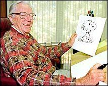 Charles Schulz - The creator of Snoopy and the Peanuts Gang