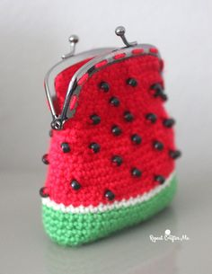 Summer crochet projects can be so much fun! Especially when they are in watermelon form! I made a cute little crochet watermelon coin purse using pony beads for the seeds! Caron Simply Soft yarn was perfect for this project with it's vibrant colors and the ability to create small tight stitches. Plus, the yarn is …