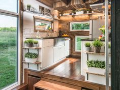 Kitchen 2 - Alpha by New Frontier Tiny Homes