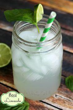 Refreshing Basil Limeade