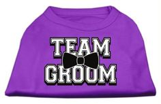 Team Groom Screen Print Shirt Purple Sm (10)
