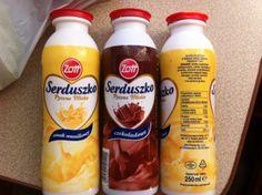 Gluten free dairy drinks from the Polish brand Zott http://glutenfreelady.nl/category/traveling/poland/ustka/