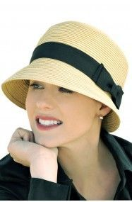 april cloche hat for women with hair loss - summer hat #HatsForWomen